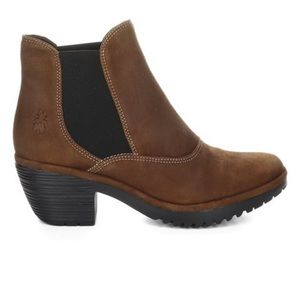 FLY London Wote Ranch Cognac ankle boot 39/8.5